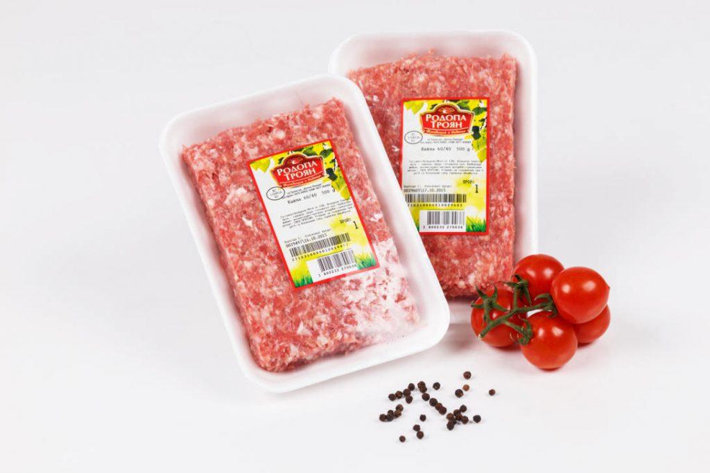 Кайма свинска и кайма телешка - 60:40, тарелка