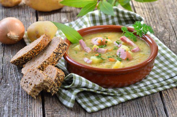 Картофена крем супа с бекон Родопа Троян